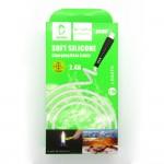 Data cable Denmen D19V micro-USB (white)