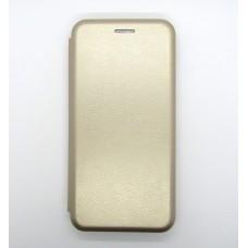 Чехол-книжка ориг кожа Xiaomi Redmi 6 (gold)
