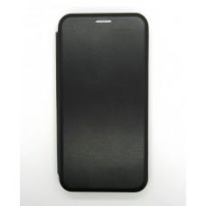 Чехол-книжка ориг кожа Meizu M6T (black)