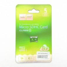 Карта памяти Hoco micro-SD 8GB