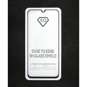 Стекло Samsung A40 5D (black)