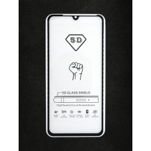 Стекло Xiaomi Redmi 9 5D (black)