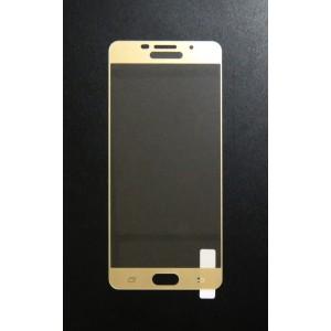 Стекло Samsung A710 3D (gold)