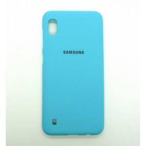 Silicone Case copy Samsung A10 (blue)