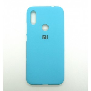Silicone Case copy Xiaomi Redmi 7 (бирюза)