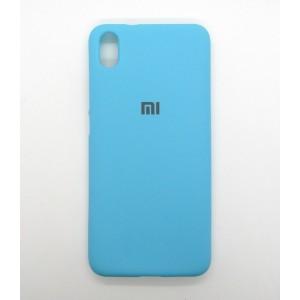 Silicone Case copy Xiaomi Redmi 7A (бирюза)