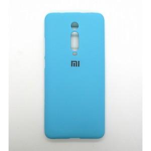 Silicone Case copy Xiaomi K20 (бирюза)