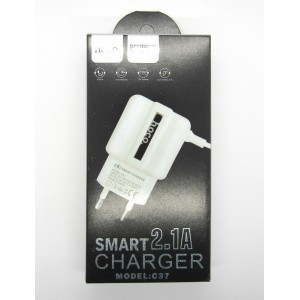 СЗУ hoco smart charger 2.1A C37 (white)