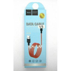 Data cable hoco premium X-29 micro USB (red)