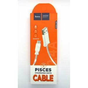 Data cable hoco premium X-24 micro USB (white)