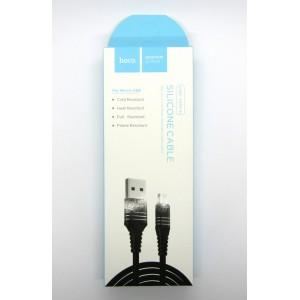Data cable hoco premium U-46 micro USB (black)