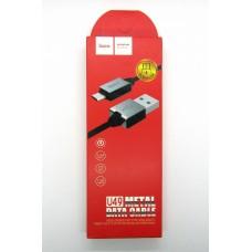 Data cable hoco premium U-49 micro USB (black)