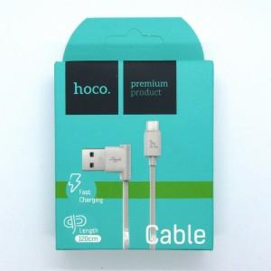 Data cable hoco premium UPM-10 micro USB (white)