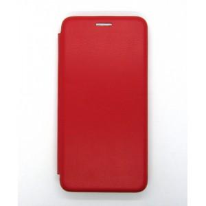 Чехол-книжка ориг кожа Huawei Y5 2019 (red)