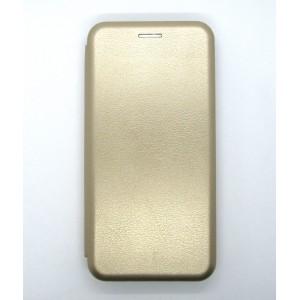 Чехол-книжка ориг кожа Xiaomi MiPlay (gold)