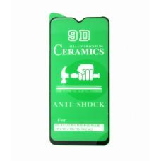 Стекло Ceramics Samsung A10S/A10/A7/M10 9D (black)