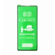 Стекло Ceramics Samsung A81/A91/A71/S10lite 9D (black)