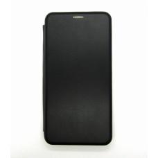 Чехол-книжка ориг кожа Xiaomi Redmi Note 9 PRO/Note9S (black)