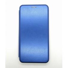 Чехол-книжка ориг кожа Xiaomi Redmi Note 9 PRO/Note9S (blue)