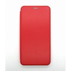 Чехол-книжка ориг кожа Xiaomi Redmi Note 9 PRO/Note9S (red)