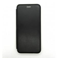 Чехол-книжка ориг кожа Samsung A41 (black)