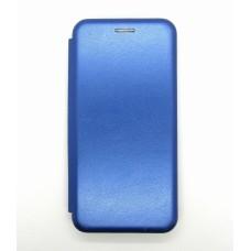 Чехол-книжка ориг кожа Samsung A41 (blue)