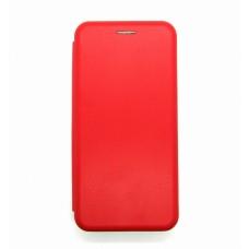 Чехол-книжка ориг кожа Samsung A41 (red)