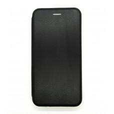 Чехол-книжка ориг кожа Huawei P40lite E/Y7 2020 (black)