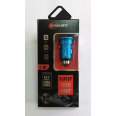 АЗУ CAR CHARGER C-02 (blue)
