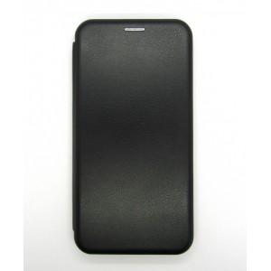 Чехол-книжка ориг кожа Samsung J600 (black)
