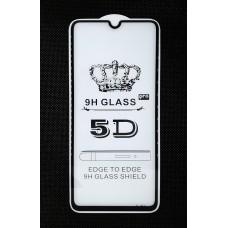 Стекло Samsung A70 5D (black)