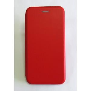 Чехол-книжка ориг кожа Huawei Y7 2019 (red)