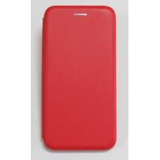 Чехол-книжка ориг кожа Huawei P Smart Plus (red)