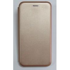Чехол-книжка ориг кожа Huawei P Smart Plus (rose-gold)