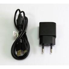 СЗУ блочек Sony ориг 2A+кабель (black)