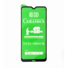 Стекло Ceramics Xiaomi Redmi 8/8A 9D (black)