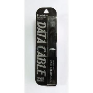 Data Cable Fashion PREMIUM micro-USB (black)