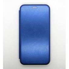 Чехол-книжка ориг кожа Samsung A10 (blue)