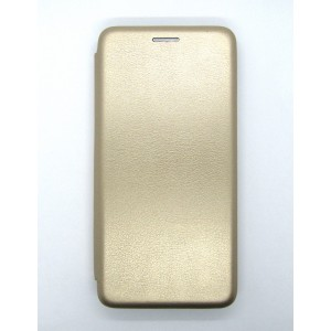 Чехол-книжка ориг кожа Xiaomi Redmi Note 7 (gold)