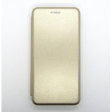 Чехол-книжка ориг кожа Xiaomi Redmi 7A (gold)