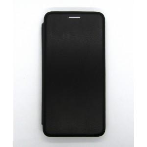 Чехол-книжка ориг кожа Xiaomi Redmi 7A (black)