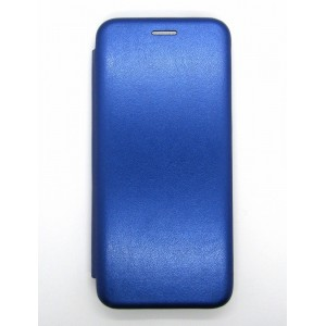 Чехол-книжка ориг кожа Xiaomi Redmi 7A (blue)