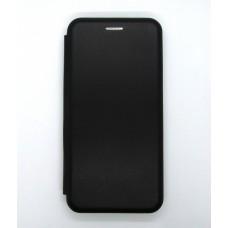 Чехол-книжка ориг кожа Huawei P30 lite (black)