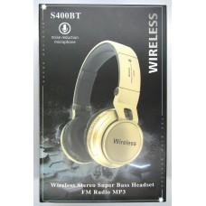 Hands Free WIRELESS S400 BT (white)