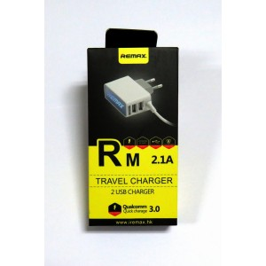 СЗУ Remax Travel Charger micro USB (white)