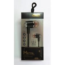 Hands Free Wireless Metal Super Bass BT-001 bluetooth (black)