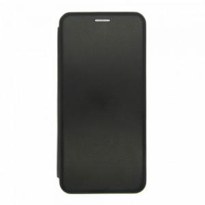 Чехол-книжка ориг кожа Samsung A22 (black)