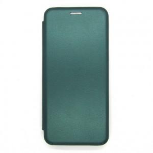 Чехол-книжка ориг кожа Samsung A22 (green)