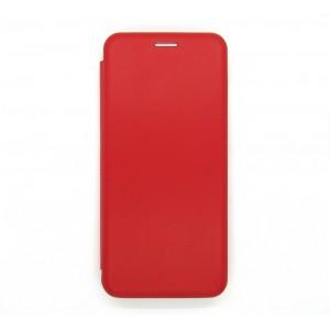 Чехол-книжка ориг кожа Samsung A22 (red)
