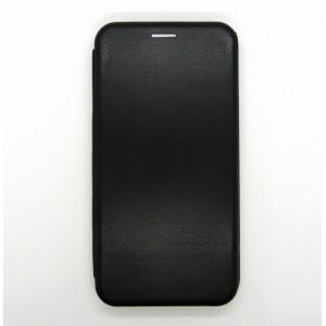 Чехол-книжка ориг кожа Samsung M10 (black)